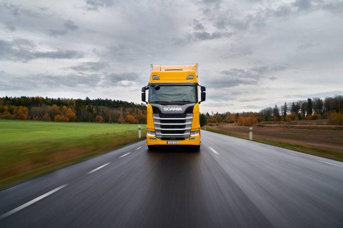 Jämförande lastbilstester med Scania 540 S som vinnare