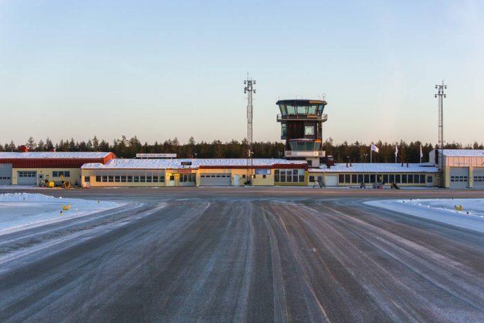 Mot fossilfri transportsektor – Flygplatsen i Örnsköldsvik ska fungera som mall för andra