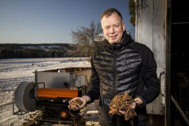Effektiv tork dubblar värdet på bark