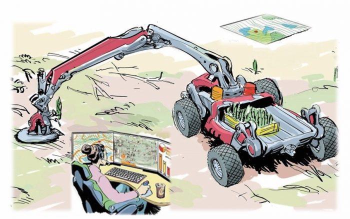 20 miljoner till utvecklingen av autonom skogsföryngring
