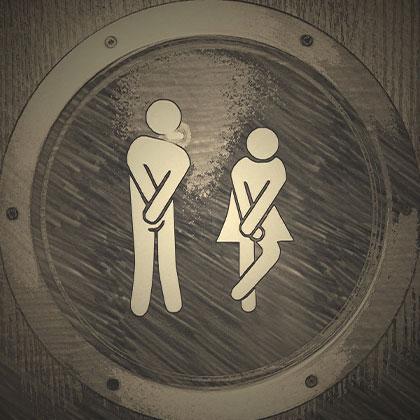 Öppna din dörr – låt chauffören låna toaletten