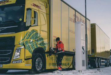 Fossilfria fjärrtransporter – DHL Freight och Volvo Lastvagnar gör gemensam sak och snabbar på övergången