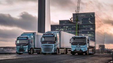 Volvo Lastvagnar redo att elektrifiera tunga godstransporter