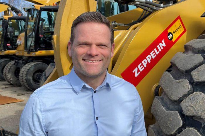 Ny General Manager för Zeppelins uthyrningsverksamhet i Sverige