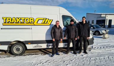 Traktor-City i Piteå säljer och servar för Maskinia i Norrbotten
