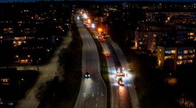 Klimatförbättrad asfalt med lignin