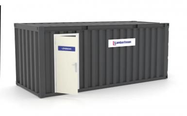 Ny leveranscontainer ger snabbare och säkrare leveranser