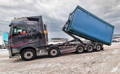 Starkaste lågbyggda lastväxlaren