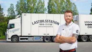 Förnyar vagnparken med nya Volvolastbilar