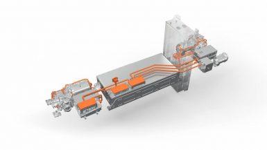 Produktion av drivlinor till världens första elektriska brandbil