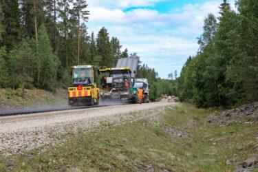 Försök med lignin i halvvarm asfalt ger lyckade resultat