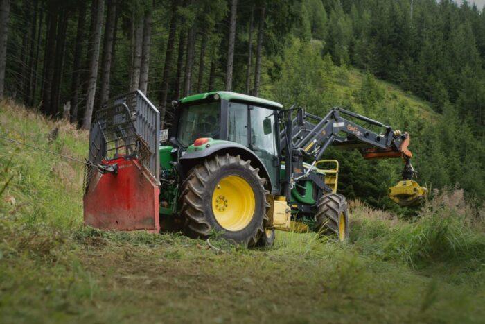 Nokian TR Forest 2 – för lätta och medeltunga skogstraktorer