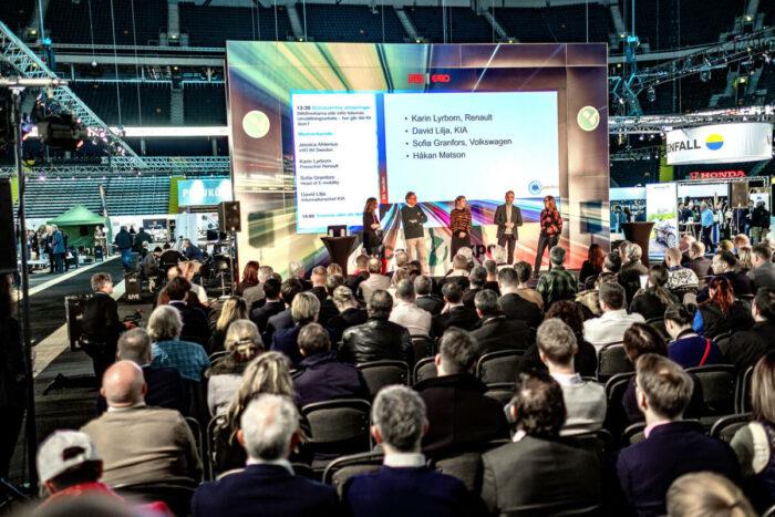 Elektrifieringens utmaningar diskuteras på eCarExpo i Göteborg