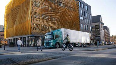 Stororder till Volvo – levererar 100 ellastbilar